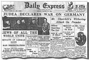 March-24-1933-Daily-Express-Judea-declares-war-on-Germany